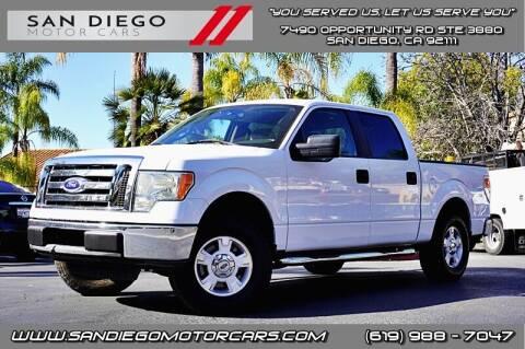 2010 Ford F-150 for sale at San Diego Motor Cars LLC in San Diego CA