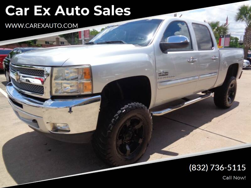 2012 Chevrolet Silverado 1500 for sale at Car Ex Auto Sales in Houston TX