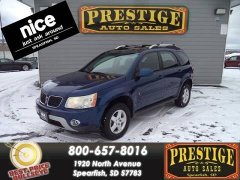 2009 Pontiac Torrent for sale at PRESTIGE AUTO SALES in Spearfish SD