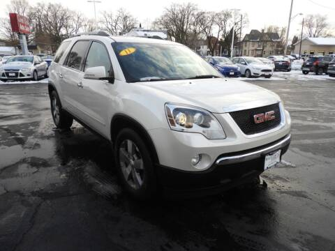 2011 GMC Acadia for sale at Grant Park Auto Sales in Rockford IL