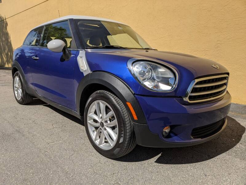 2013 MINI Paceman for sale at TOP TWO USA INC in Oakland Park FL