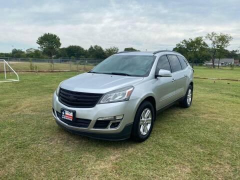 2014 Chevrolet Traverse for sale at LA PULGA DE AUTOS in Dallas TX