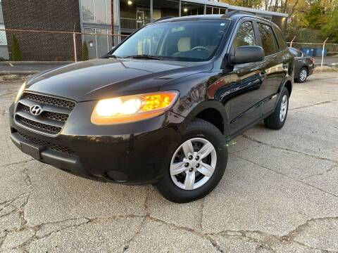 2009 Hyundai Santa Fe for sale at Cedar Auto Group LLC in Akron OH