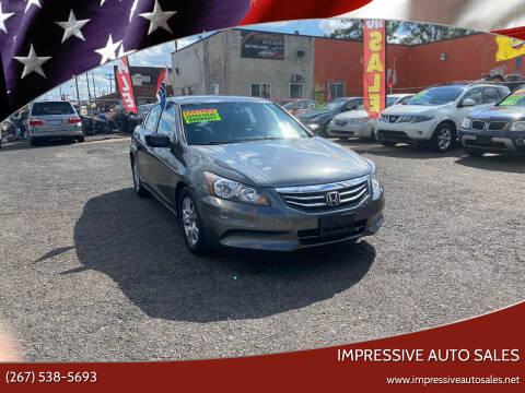 2011 Honda Accord for sale at Impressive Auto Sales in Philadelphia PA