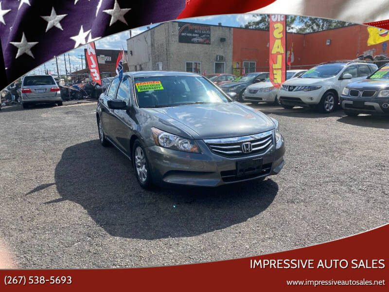 2011 Honda Accord for sale at Impressive Auto Sales in Philadelphia PA