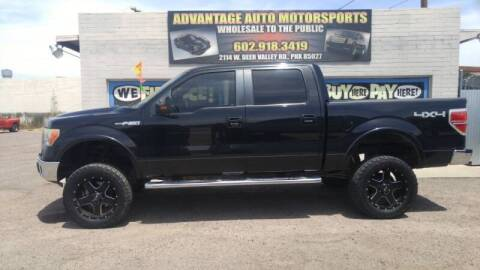 2010 Ford F-150 for sale at Advantage Motorsports Plus in Phoenix AZ