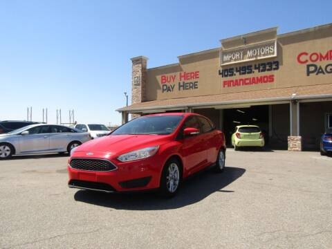 2016 Ford Focus for sale at Import Motors in Bethany OK