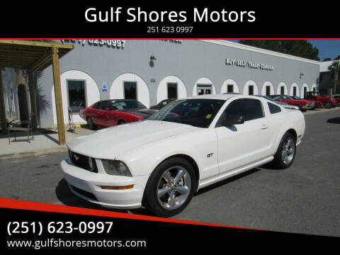 2007 Ford Mustang for sale at Gulf Shores Motors in Gulf Shores AL