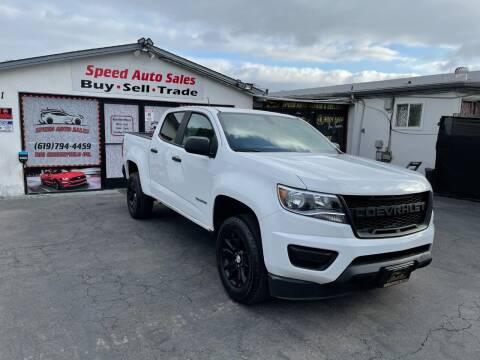 2017 Chevrolet Colorado for sale at Speed Auto Sales in El Cajon CA