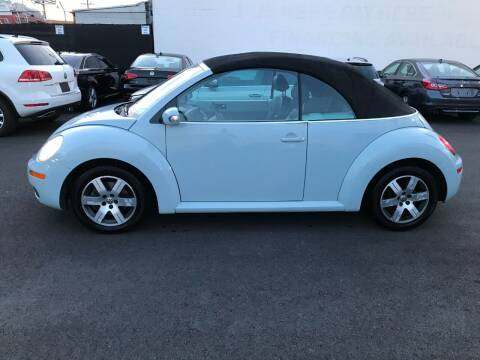 2006 Volkswagen New Beetle Convertible for sale at Shoppe Auto Plus in Westminster CA