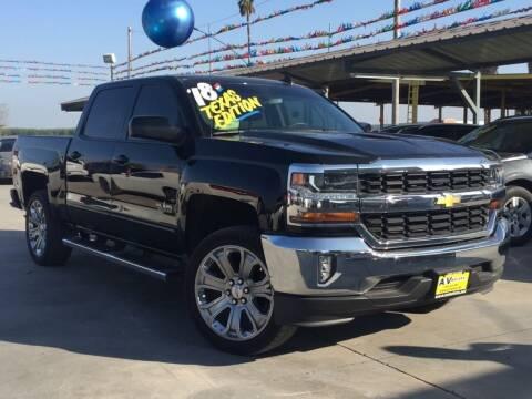2018 Chevrolet Silverado 1500 for sale at A & V MOTORS in Hidalgo TX