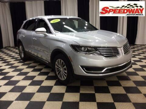 2016 Lincoln MKX for sale at SPEEDWAY AUTO MALL INC in Machesney Park IL