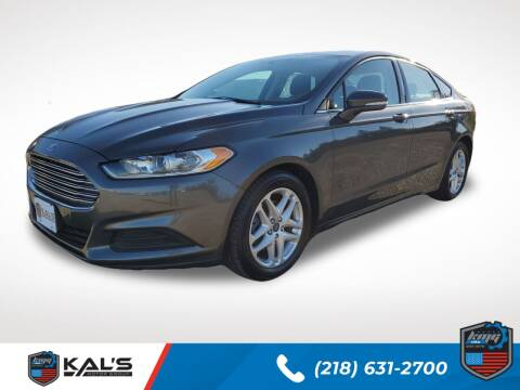 2015 Ford Fusion for sale at Kal's Kars - CARS in Wadena MN
