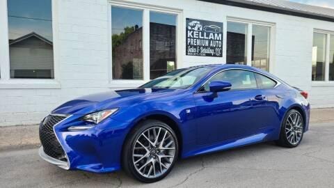 2017 Lexus RC 300 for sale at Kellam Premium Auto LLC in Lenoir City TN