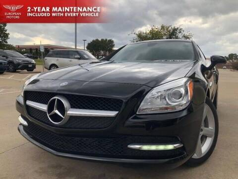 2014 Mercedes-Benz SLK for sale at European Motors Inc in Plano TX