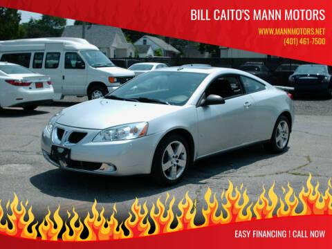 2009 Pontiac G6 for sale at Bill Caito's Mann Motors in Warwick RI