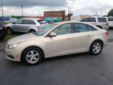 2012 Chevrolet Cruze for sale at Big Boys Auto Sales in Russellville KY