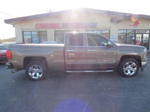 2015 Chevrolet Silverado 1500 for sale at Cardinal Motors in Fairfield OH