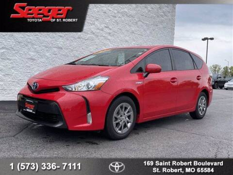 2017 Toyota Prius v for sale at SEEGER TOYOTA OF ST ROBERT in St Robert MO