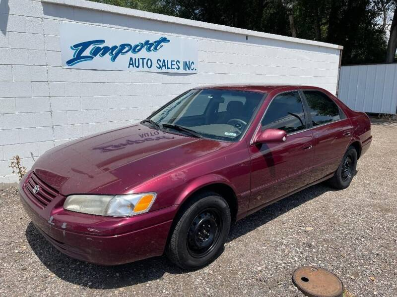 1998 Toyota Camry for sale at Import Auto Sales Inc. in Fort Collins CO
