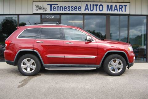 2012 Jeep Grand Cherokee for sale at Tennessee Auto Mart Columbia in Columbia TN