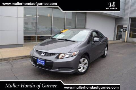 2013 Honda Civic for sale at RDM CAR BUYING EXPERIENCE in Gurnee IL