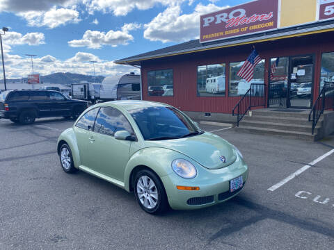 2009 Volkswagen New Beetle for sale at Pro Motors in Roseburg OR