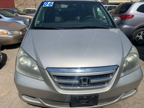 2006 Honda Odyssey for sale at HW Used Car Sales LTD in Chicago IL