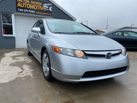 2008 Honda Civic for sale at Dalton George Automotive in Marietta OH