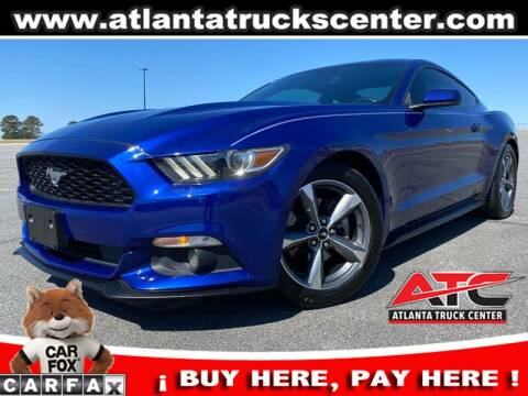 2016 Ford Mustang for sale at ATLANTA TRUCK CENTER LLC in Brookhaven GA