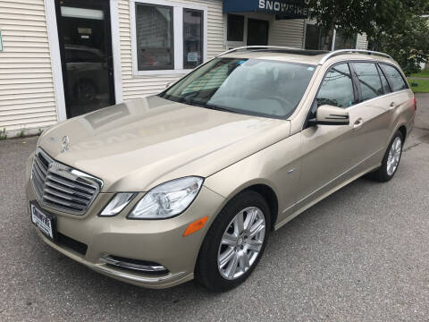 2012 Mercedes-Benz E-Class for sale at Snowfire Auto in Waterbury VT