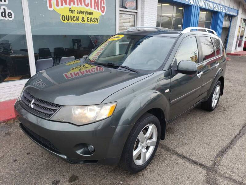 2008 Mitsubishi Outlander for sale at AutoMotion Sales in Franklin OH