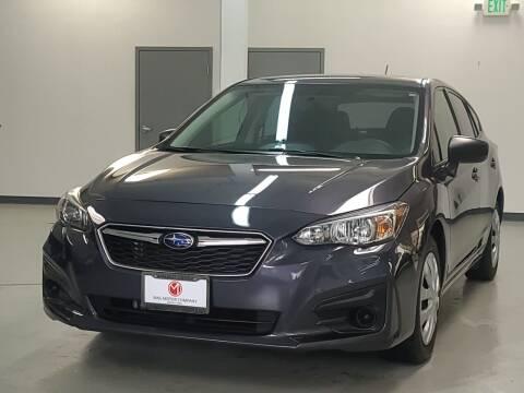 2017 Subaru Impreza for sale at Mag Motor Company in Walnut Creek CA