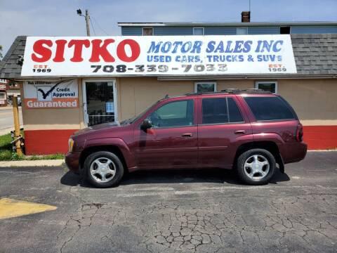 2006 Chevrolet TrailBlazer for sale at SITKO MOTOR SALES INC in Cedar Lake IN