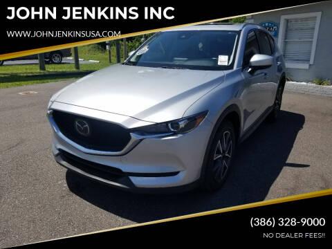 2018 Mazda CX-5 for sale at JOHN JENKINS INC in Palatka FL
