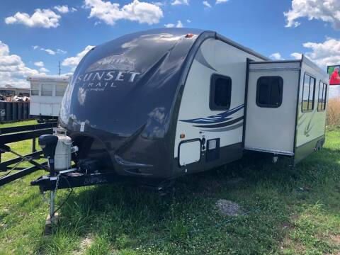 2012 Crossroads Sunset Trail for sale at Kill RV Service LLC in Celina OH