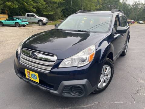 2013 Subaru Outback for sale at Granite Auto Sales in Spofford NH