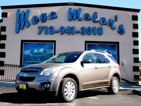 2011 Chevrolet Equinox for sale at MEGA MOTORS in South Houston TX