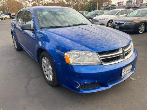 2012 Dodge Avenger for sale at San Jose Auto Outlet in San Jose CA