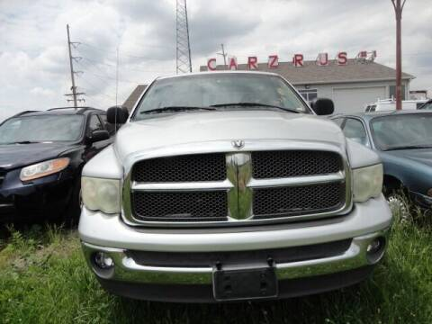 2002 Dodge Ram Pickup 1500 for sale at CARZ R US 1 in Heyworth IL