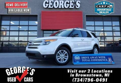 2015 Ford Explorer for sale at George's Used Cars - Pennsylvania & Allen in Brownstown MI