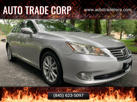 2010 Lexus ES 350 for sale at AUTO TRADE CORP in Nanuet NY