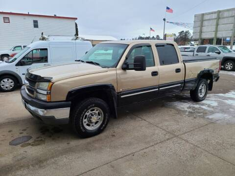2005 Chevrolet Silverado 1500HD for sale at Rum River Auto Sales in Cambridge MN