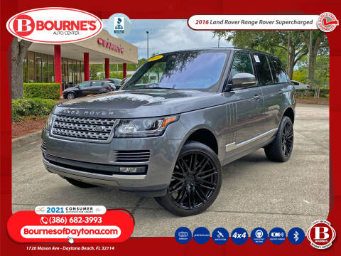2016 Land Rover Range Rover for sale at Bourne's Auto Center in Daytona Beach FL
