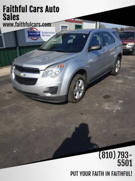 2011 Chevrolet Equinox for sale at Faithful Cars Auto Sales in North Branch MI