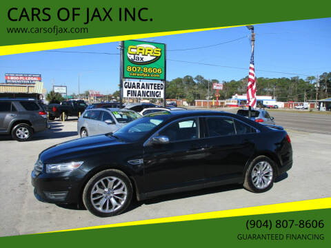 2013 Ford Taurus for sale at CARS OF JAX INC. in Jacksonville FL