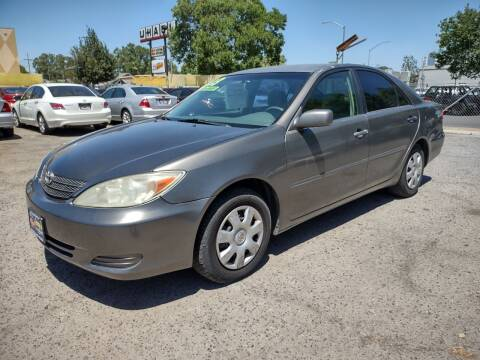2003 Toyota Camry for sale at Larry's Auto Sales Inc. in Fresno CA