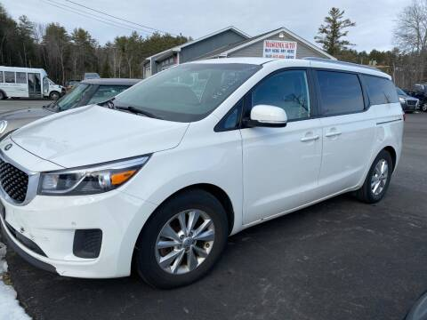 2017 Kia Sedona for sale at Mascoma Auto INC in Canaan NH