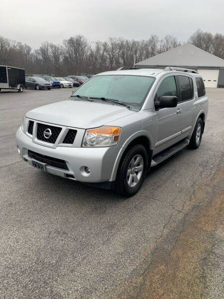 2013 Nissan Armada for sale at BEACH AUTO GROUP INC in Fishkill NY