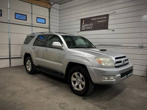 2004 Toyota 4Runner for sale at Queen City Classics in West Chester OH
